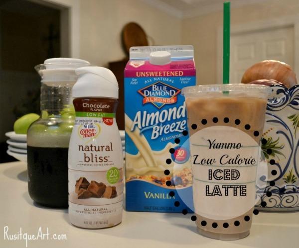 Low Calorie Iced Latte Recipe