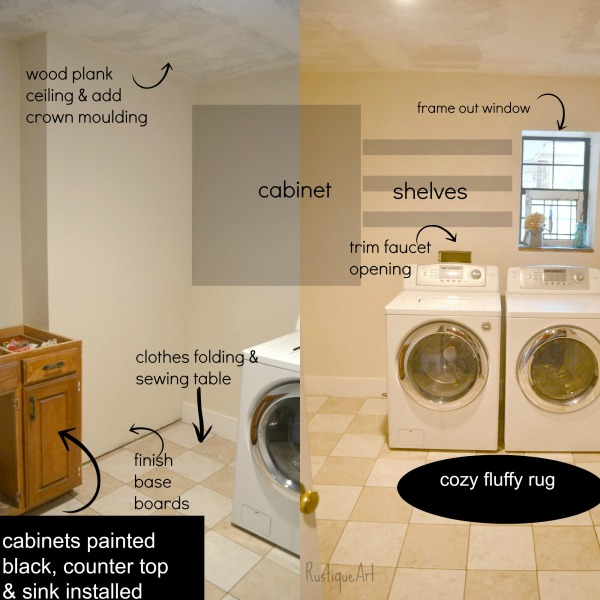 plan for Laundry Room