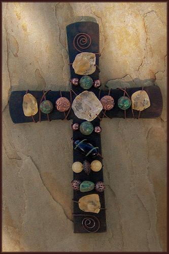 Mission Wall Cross