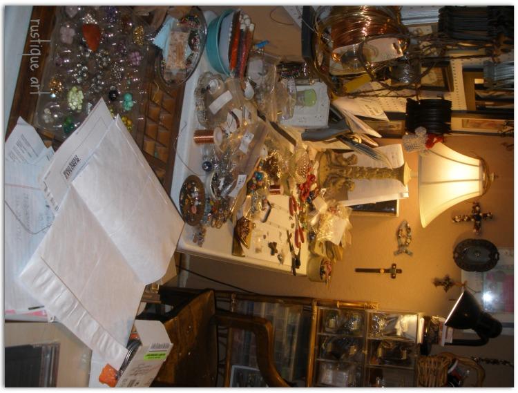 Rustique Art Studio Mess