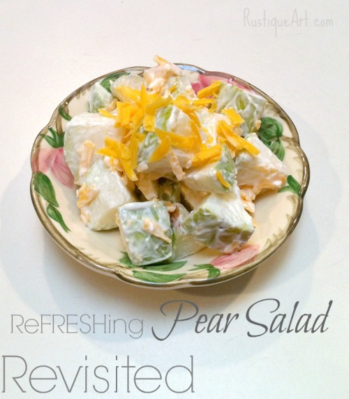 Summer Pear Salad