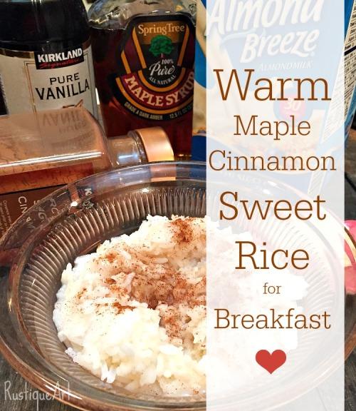 Breakfast Sweet Rice textbanner