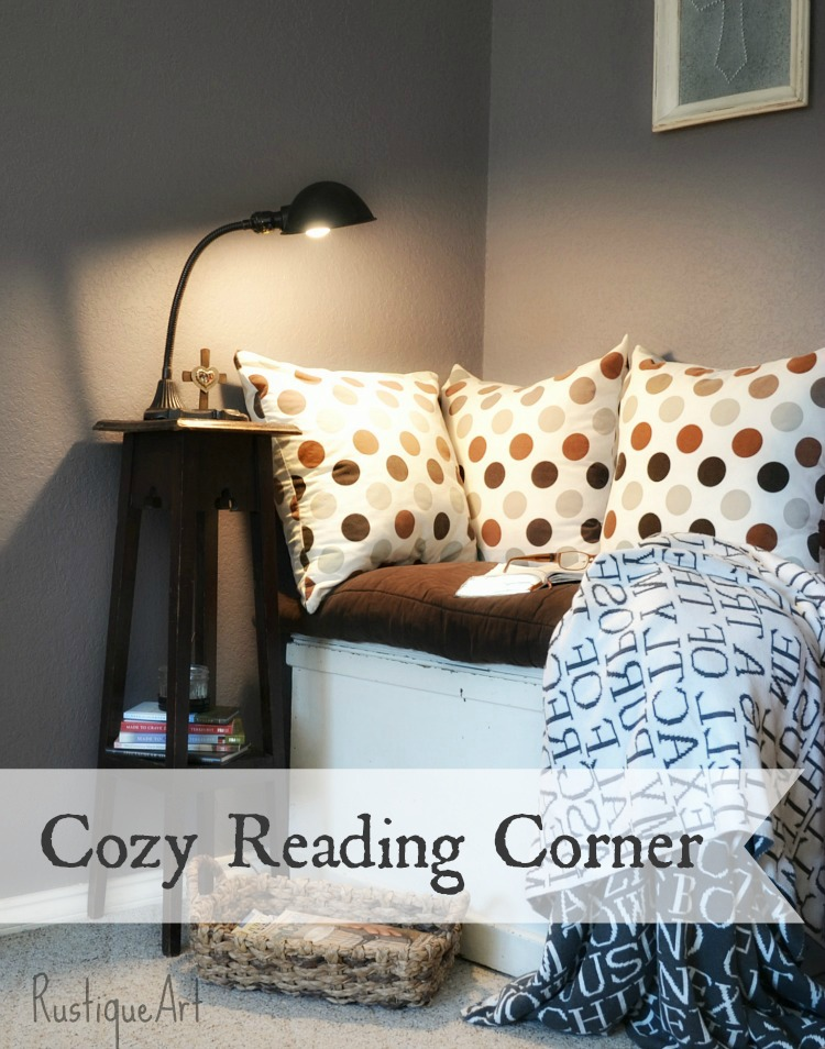 How To Turn a Dark Junk Corner Into a Cozy Reading Retreat On a Zero Budget