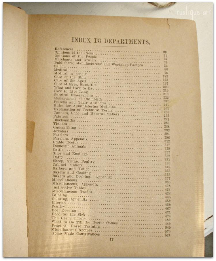 Antique Book Index