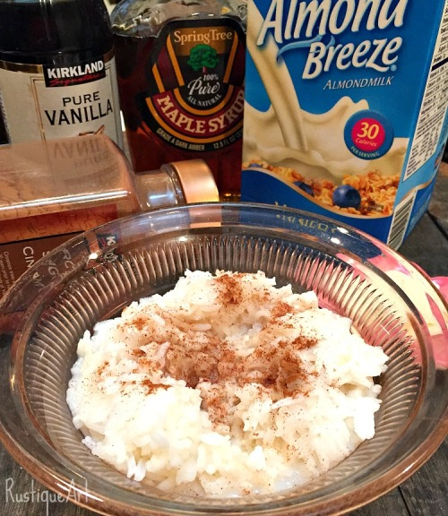 Breakfast Sweet Rice