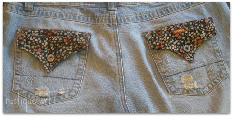 Blue Jean Skirt Tutorial